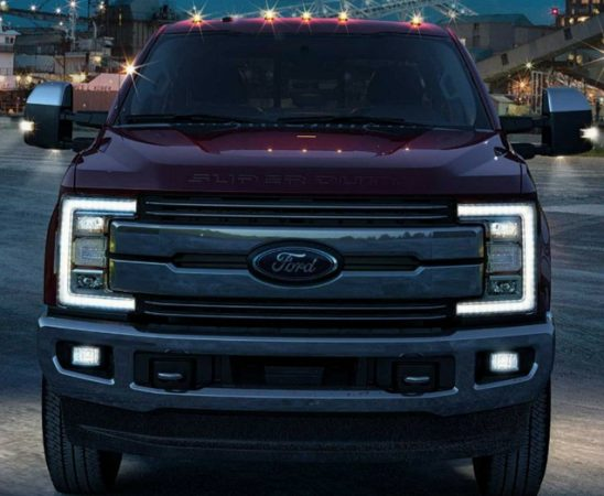 Big Power for the Big Jobs in the Ford F-Series Super Duty Trucks