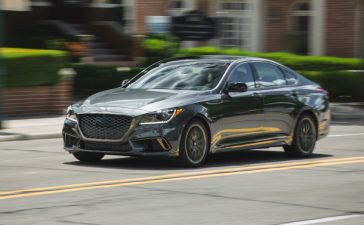 Obvious Luxury Excitement in the Genesis G80