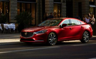 Fun Driving in the Mazda6