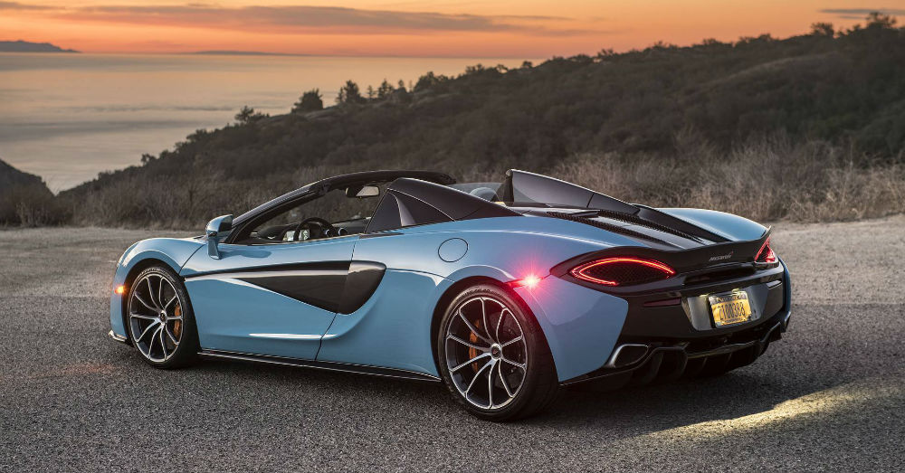 McLaren 570S Inspiration for a Car Came from a Home