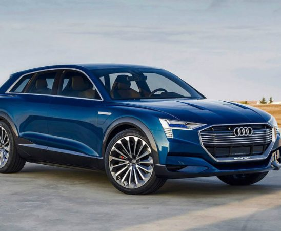 An Exciting Audi ElectricVehicle