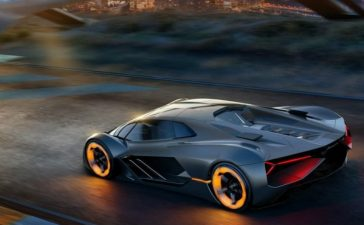 Futuristic Versions from Lamborghini