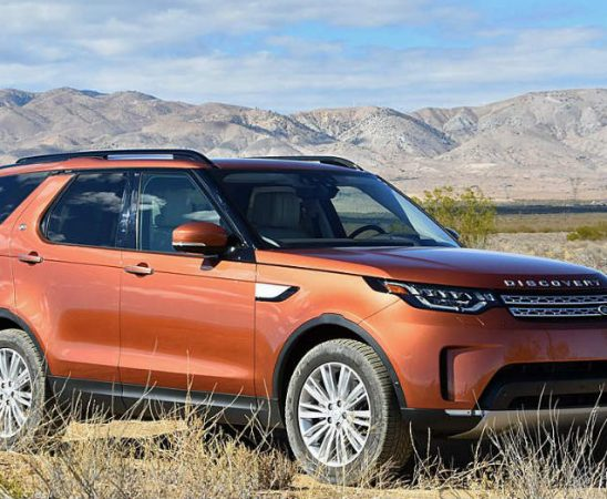 2018 Land Rover Discovery Active Rugged Driving