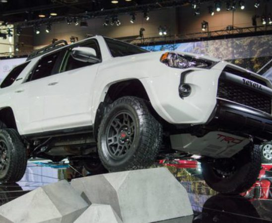 Toyota is Bringing Off-Road to Chicago