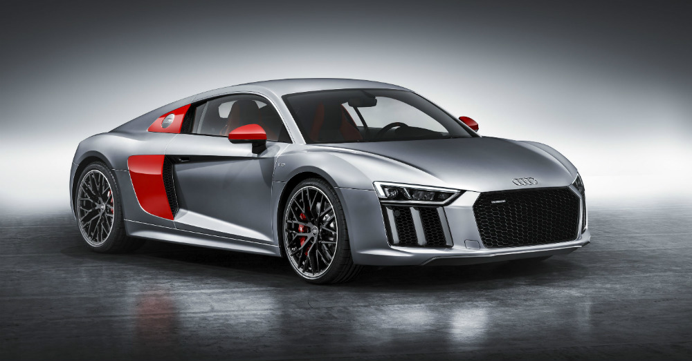 The Audi R8 has Some Good News