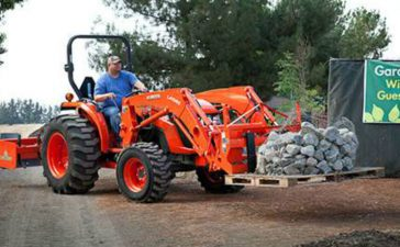 Big Power for Big Work from Kubota