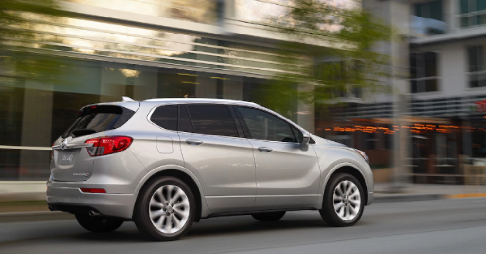 The Buick Envision Gives You The Style and the Drive You Want