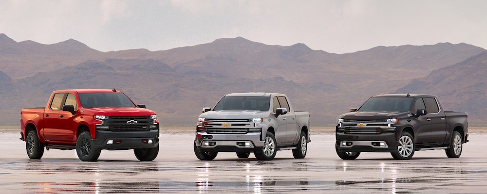 2019 Chevrolet Silverado 1500 Models