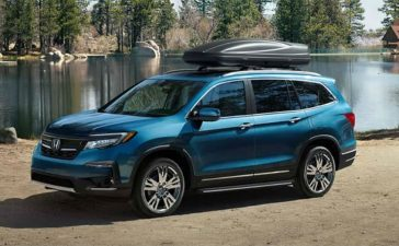 Large SUV - Honda Pilot is Right for Your Drive