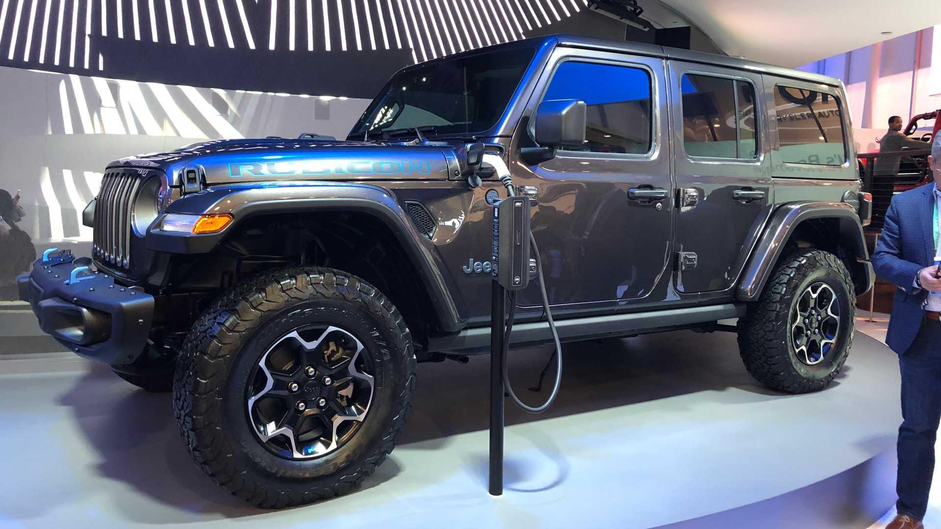 Jeep Hybrids 4xe
