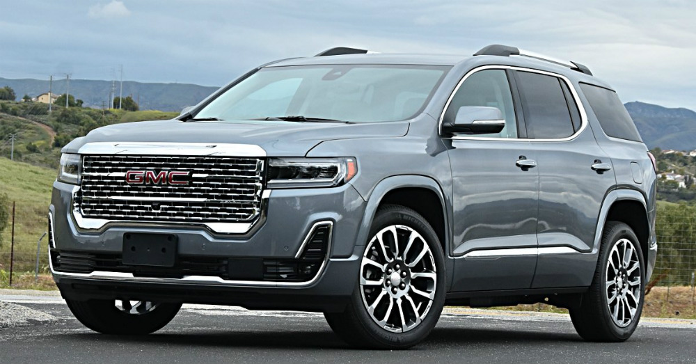 2020 GMC - Experience Rugged Quality in the GMC Acadia