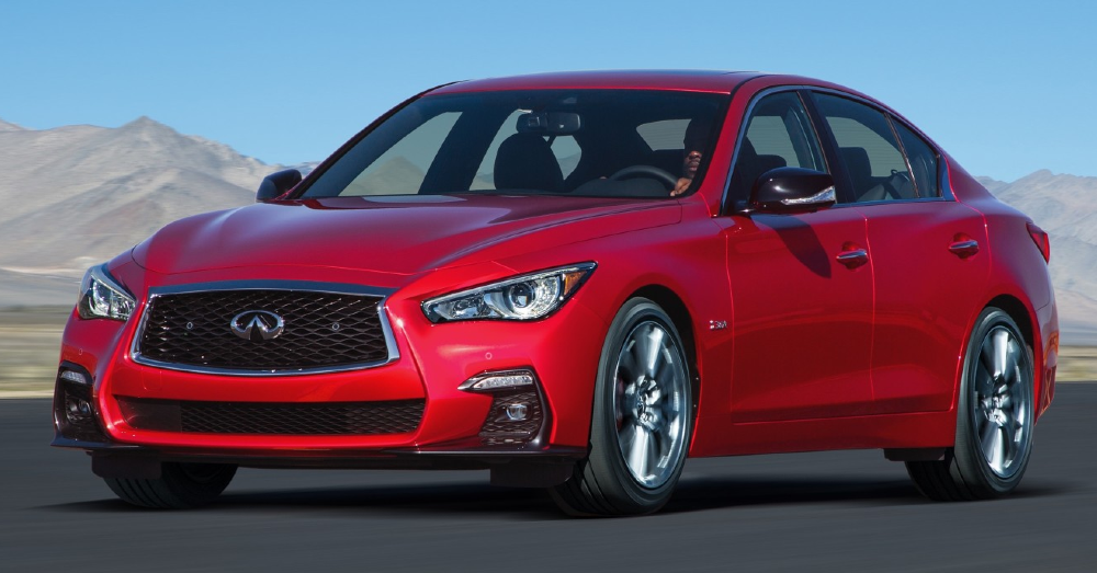2020 INFINITI Q50: Strong Style and Performance