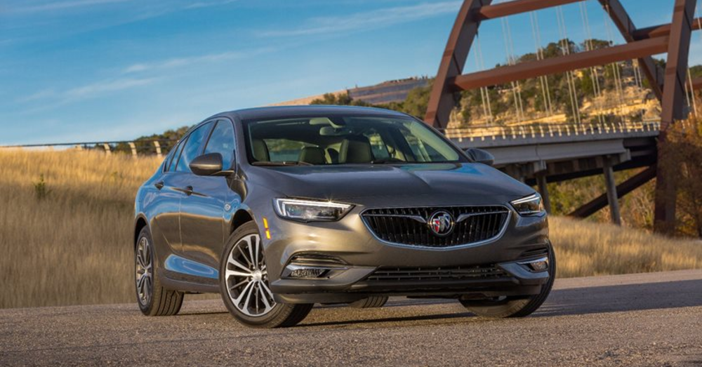 The Buick Regal Sportback Brings You Driving Excellence