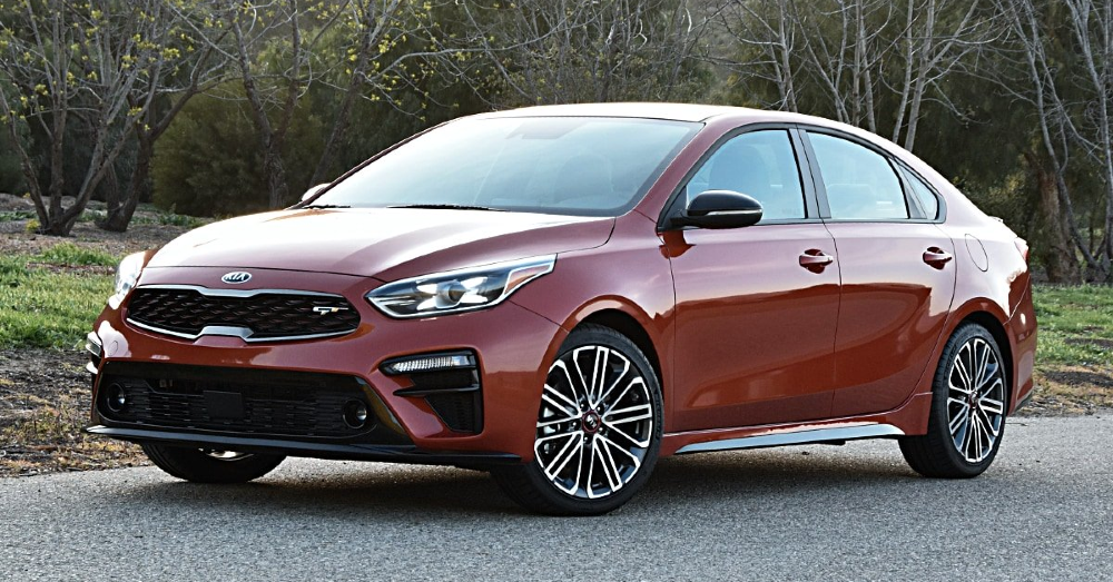 Fall in Love with the Small and Active Kia Forte