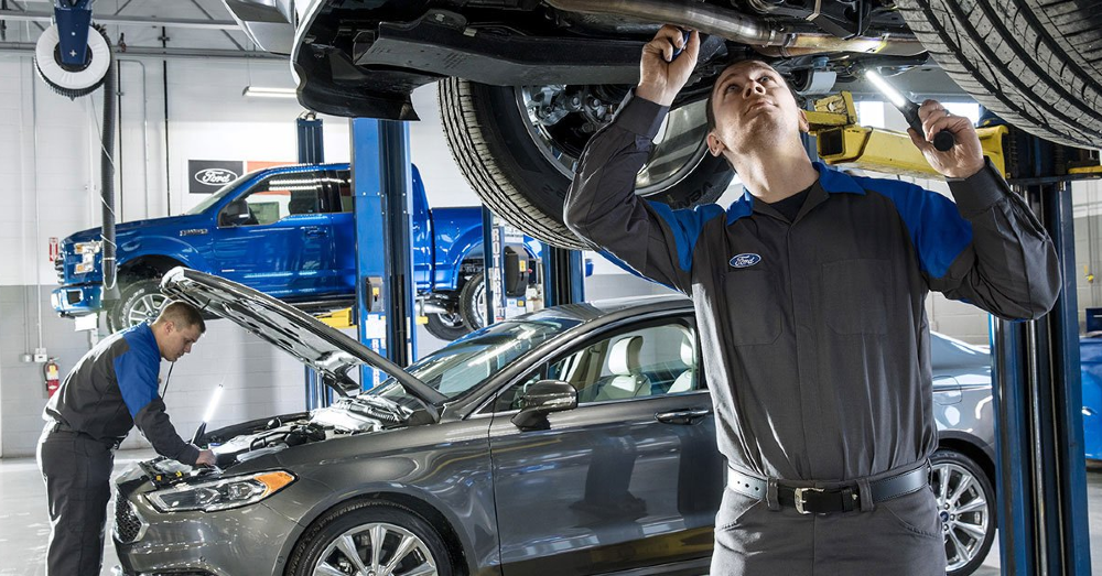 Go Where the Ford Service is the Best for Your Vehicle