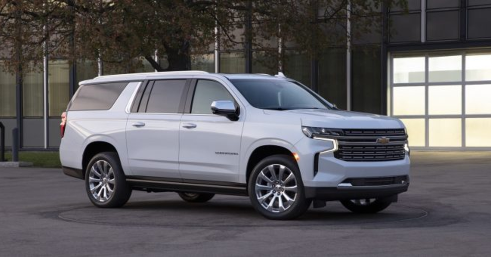 The Chevrolet Suburban has the Right Drive