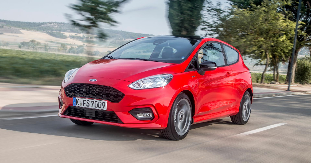 Subcompact Driving Pleasure in the Ford Fiesta