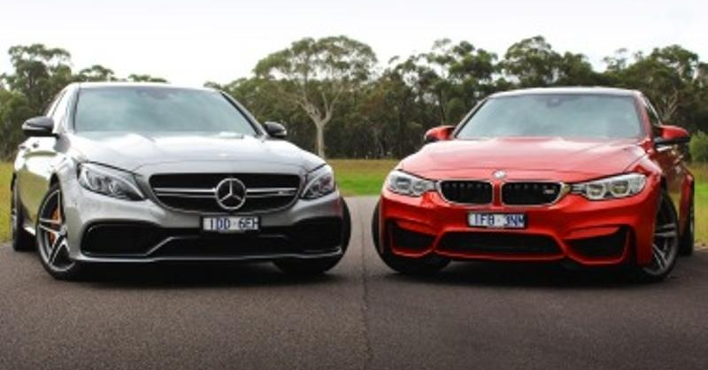 A Luxury Battle Between the BMW M3 and Mercedes-Benz C63 AMG