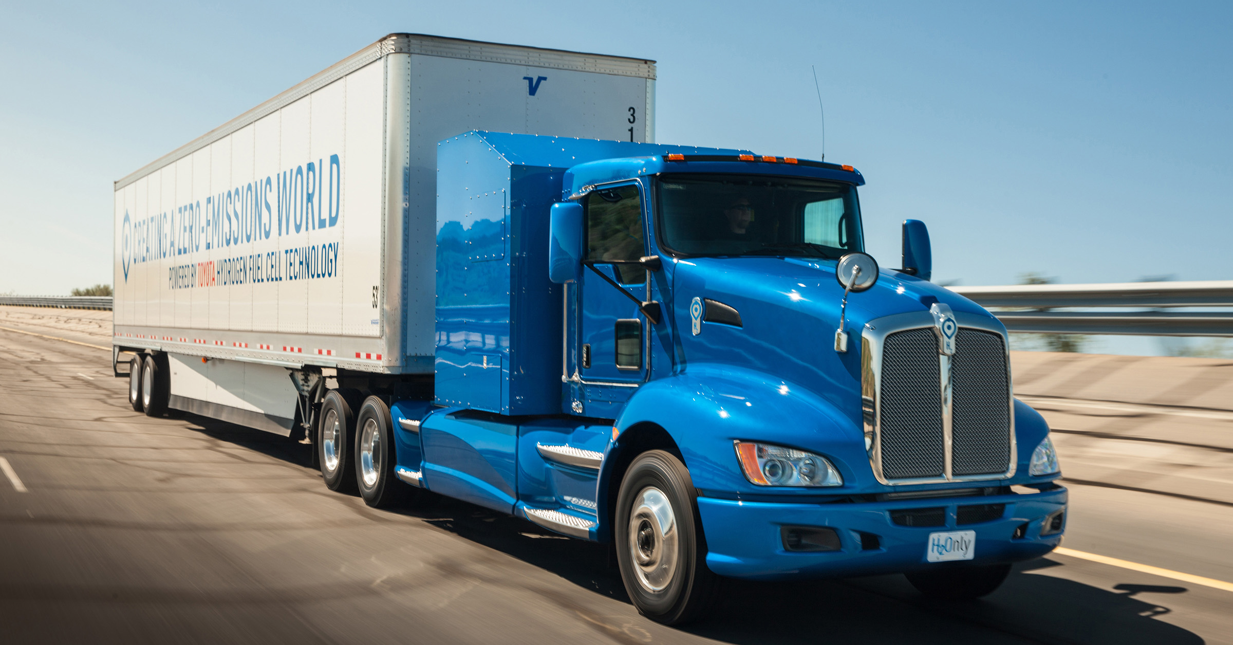 Toyota Moves Forward with Zero-Emission Large Trucks