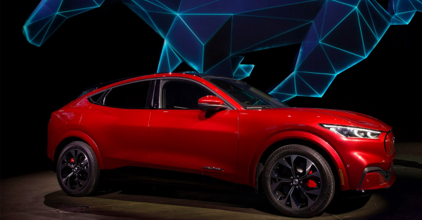 Ford Mustang Mach-E is Unveiled in L.A.