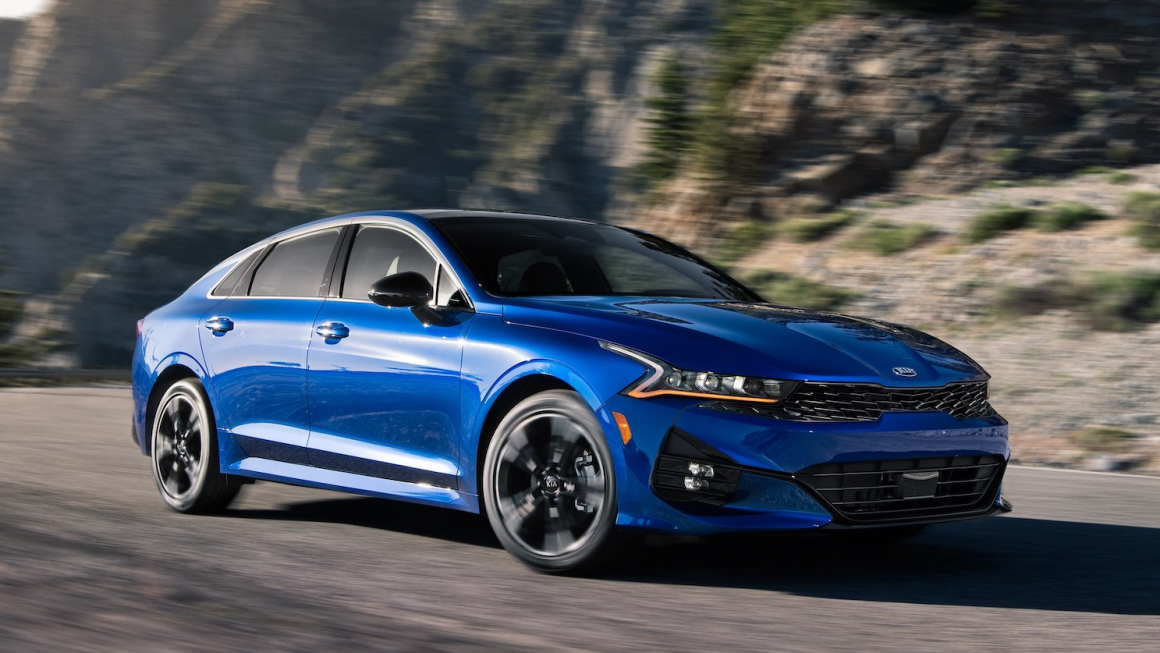 Kia Has Replaced the Optima with the 2021 K5