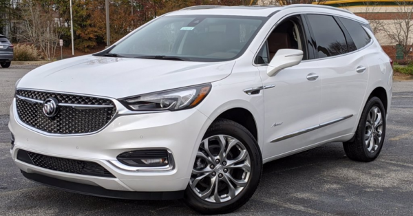 2021 Buick Enclave: Family Sized and Extremely Comfortable