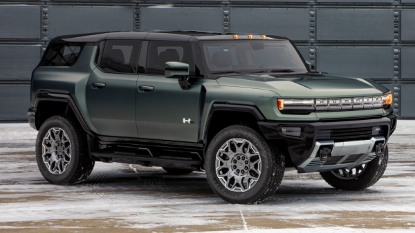 GMC Hummer EV SUV -An Excellent Electric SUV is Coming