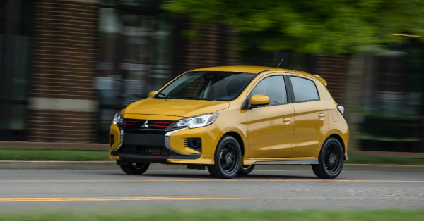 Enjoy a Small Affordable Drive in the Mitsubishi Mirage SE