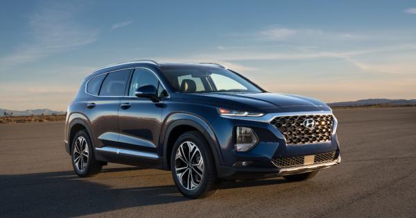 The Luxury Features on the 2021 Hyundai Santa Fe