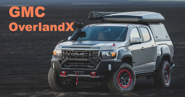 The GMC Canyon OverlandX Concept Is Here